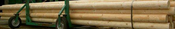 Cilindrisch gefreesde palen