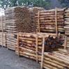Voorraad kastanjehout